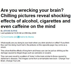 Daily Mail Online: Are You Wrecking Your Brain?